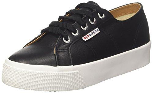 Eu white C39 Nero 2730 Sneaker black nappaleau 35 Donna Superga zYqwHZw