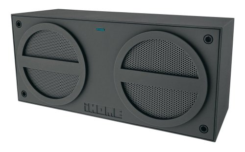 iHome iBN24GC Bluetooth Rechargeable Stereo Mini Speaker