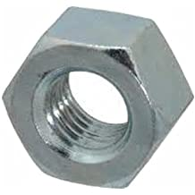 """Small Parts FSC10HNSZ Low-Strength Steel Hex Nut, Zinc Plated, 10""""-24"""" Thread Size (Pack of 100)"""