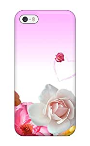 Christina Schulte's Shop New Style Case Cover Roses & Love Hearts Compatible With Iphone 5/5s Protection Case