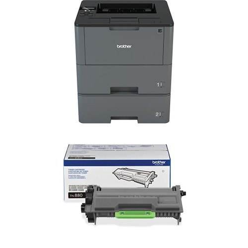 Brother HLL6200DWT Wireless Monochrome Printer with Dual ...