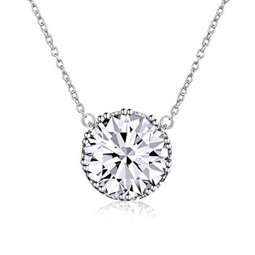 Crown Of Light Diamond Pendant
