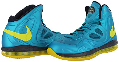 amazing price cheap price sale 2014 new Nike Air Max Hyperposite Men Basketball Shoes Sneakers Torquoise / Yellow 524862-303 Torq./Yellow clearance with paypal choice online htXicK2GXX