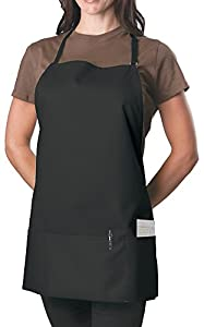 Adjustable Bib Apron - 3 Pocket