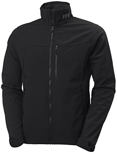 - Helly Hansen Men's Paramount Softshell Jacket, Black, X-Large