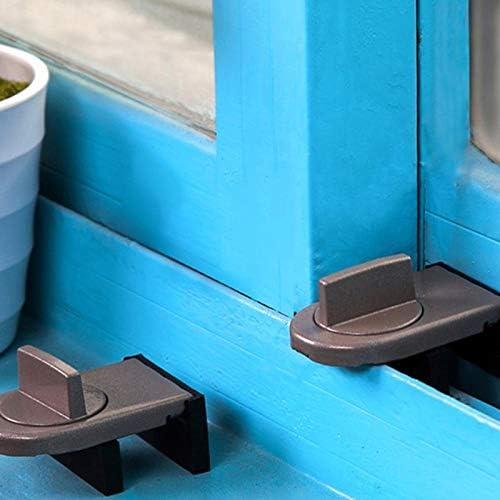 BianchiPamela Sliding Sash Stopper Cabinet Locks Straps Doors Security Anti-theft Lock