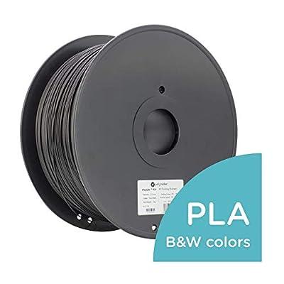 Polymaker PolyLite PLA 3D Printer Filament Black 1.75mm 3 kg 3D Printing Filament
