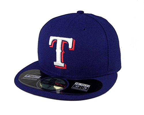 2b94b779b8a Galleon - MLB Texas Rangers Game AC On Field 59Fifty Fitted Cap ...