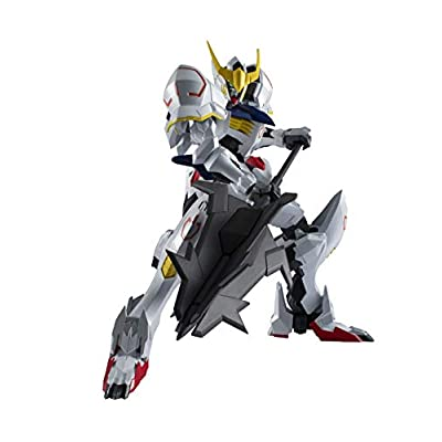 TAMASHII NATIONS Gundam Universe Asw-G-08 Gundam Barbatos Mobile Suit Gundam Iron-Blooded Orphans, Multi: Toys & Games