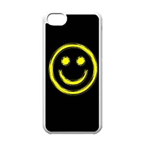 Good Phone Case With High Quality Just Smile Pattern On Back - iPhone 5C
