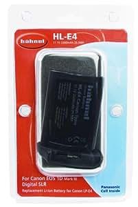 Hähnel 10001787 - Batería para cámara Canon LP-E4, negro