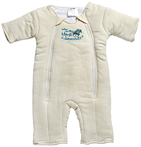 Baby Merlin's Magic Sleepsuit Cotton - Cream - 6-9 months Baby Merlin' s MSSC-CLP