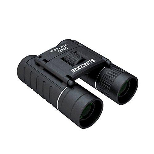 Suncoreトラベラー10 x 22双眼鏡HD高電力non-infraredナイトビジョン望遠鏡 B073P7FK2G