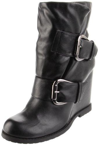 MIA Women's Uma Boot,Black,10 M US
