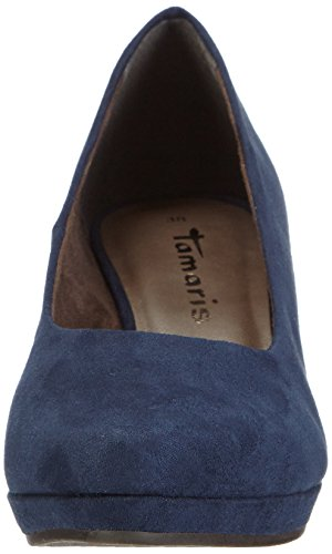Tamaris 22434, Women's Wedge Shoes Blue (Blau (Navy 805))