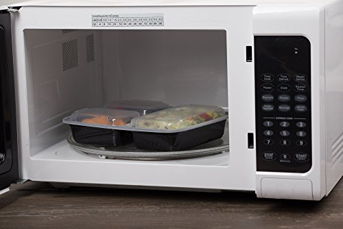 Microwave Food Container ~ Chefland compartment microwave safe food container with