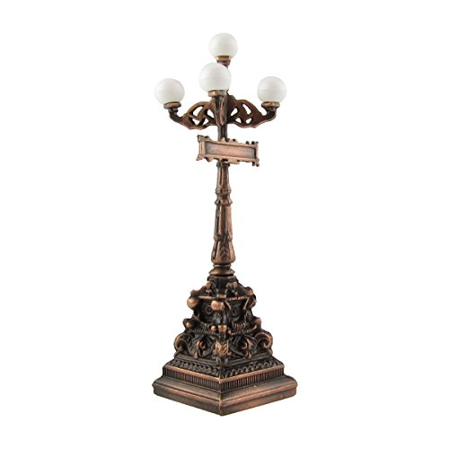 Victorian Lamp Post (1:24 Scale Model Miniature 5 Lamp Post Diorama Accessory Metal Pencil Sharpener)