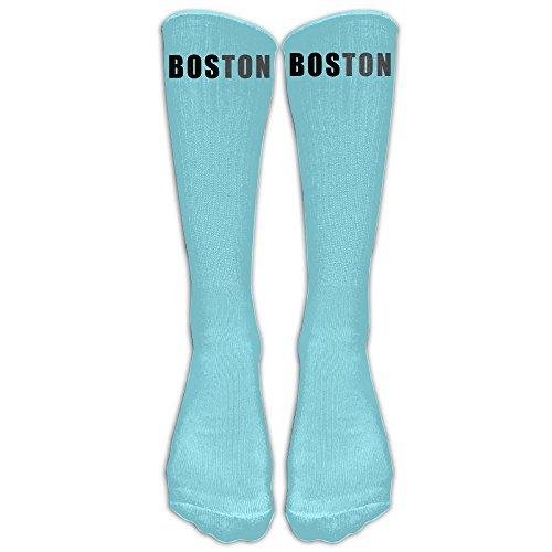 SARA NELL Men Women Funny Novelty Socks American Boston Crew Socks Classic Sport Athletic Socks 40Cm Long Tube Socks Stockings-Best Gift Sock