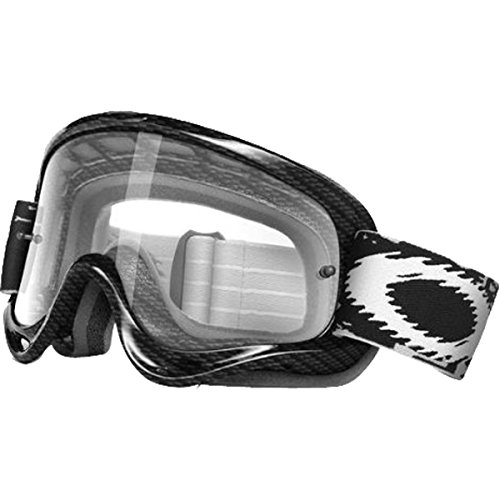 Oakley XS O-Frame Graphic Frame MX Goggles (True Carbon Fiber Frame/Clear Lens, One - Oakley Sunglasses Kids