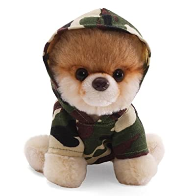 Gund 5 Itty Bitty Boo In Camo Hoodie Plush from Gund