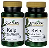 Kelp (Iodine Source) 225 mcg 500 Tabs by Swanson Premium Review