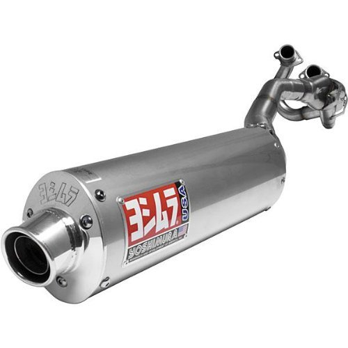 Yoshimura ATV RS-3 Comp Series Stainless Steel Full System Exhaust for 2001-2005 Yamaha YFM660R Raptor - Silver - One Size