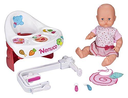 Nenuco 12387 Majorette Trona para Comer con mi muñeca