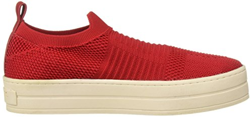 J Slides Women's Hilo Sneaker Red Ppmlsic
