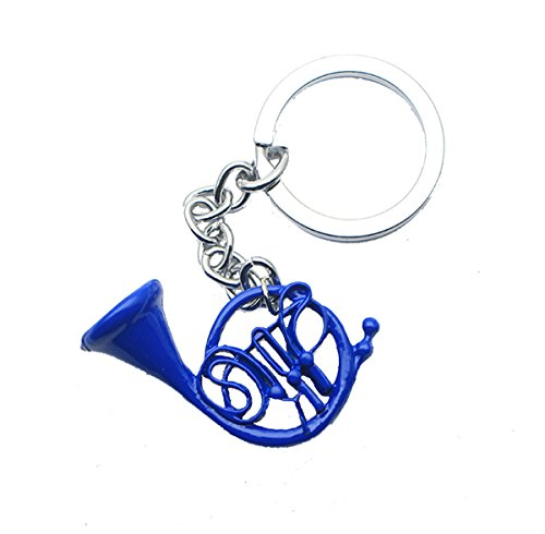 Blue French Horn Keychain inspired by How I Met Your Mother