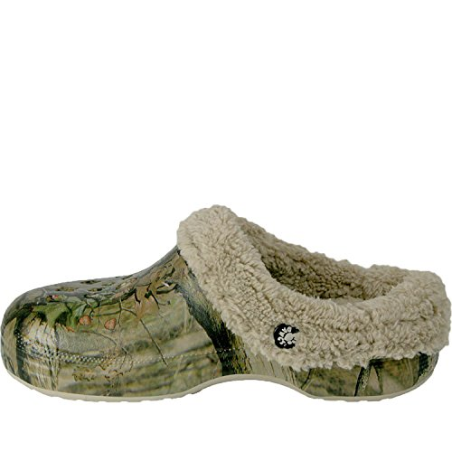 Dawgs Womens Chêne Moussu Fleecedawg Mule Éclatement Infini