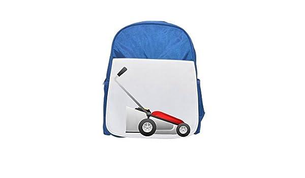 Cortacésped impreso Kid s azul mochila, para mochilas, cute small ...