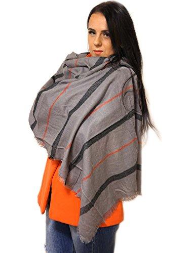 gris y de bufanda gorro de 4home Conjunto mujer guantes lt Xzw6z