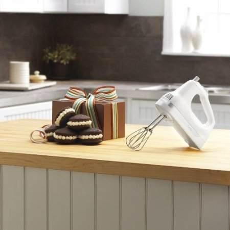 KitchenAid KHM53WH 5-Speed Ultra Power Hand Mixer (White)