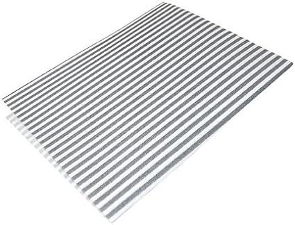 2 hojas de filtros de grasa universales para campanas extractoras: Amazon.es: Hogar
