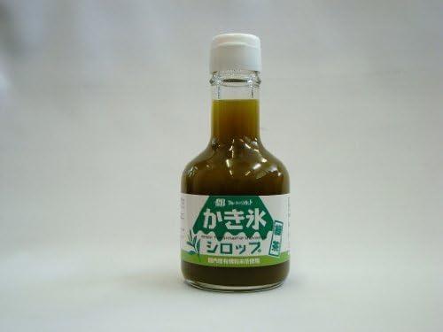 かき氷シロップ 緑茶 180ml