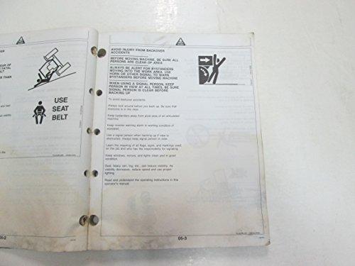 John Deere 450G 550G 650G Crawler Operators Manual FADING WATER DAMAGE OEM DEAL
