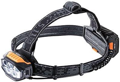 5.11 53192 S R H6 Headlamp Tactical Flashlight, Style 53192, Black Gray