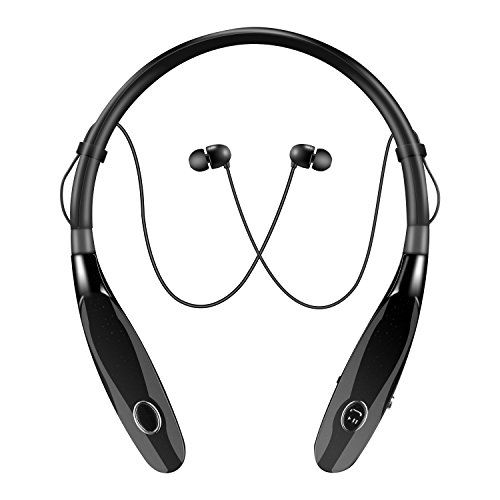 uetooth Headphones, Truck Driver Bluetooth Headset, Wireless Magnetic Neckband Earphones, V4.2 Noise Cancelling Earbuds w/ Mic, Compatible with Any Bluetooth Equitments (Driver Headphones)