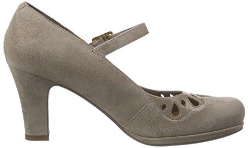 Clarks Chorus Music - Zapatos de Tacón mujer Gris (Pebble)