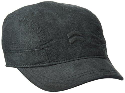 A. Kurtz Men's Slope-Front Military Cap, Black, OSFA ()