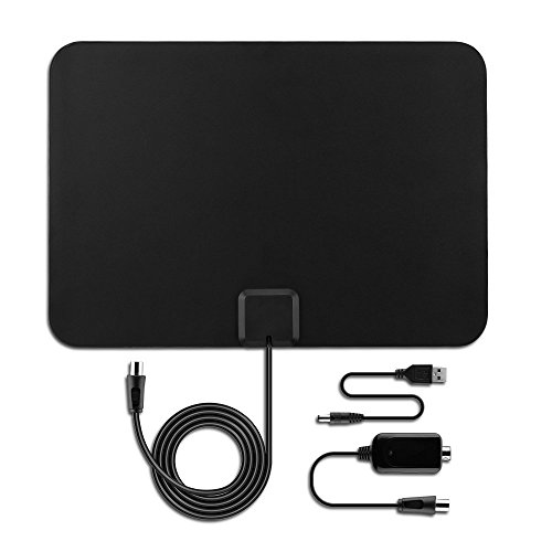Best Price Amplified TV Antenna Indoor Digital HDTV Antenna 50 Miles Range for High Reception Ultra ...