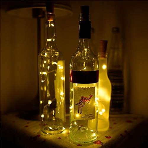 Hilai 1 Botella de Vino llevó la Secuencia Las baterías llevaron ...