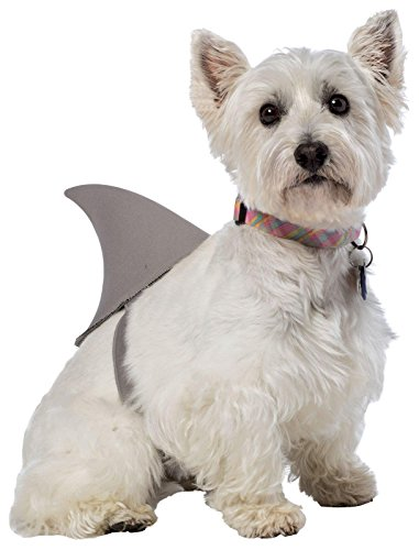Pet Shark Costume (Rasta Imposta Shark Fin Dog Costume,)