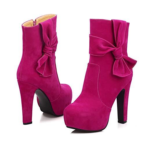 Hot Stivali Donna JERFER Pink JERFER Stivali Donna Xq7Bgg