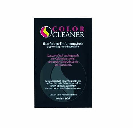 Coolike Color Cleaner - Toallita quitamanchas para tinte de pelo (algodón, 50 unidades,