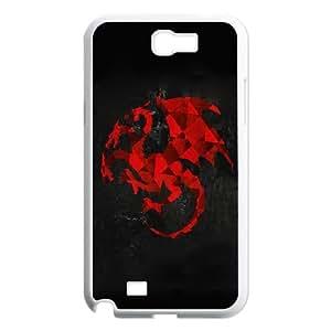 Targaryen Artwork Samsung Galaxy N2 7100 Cell Phone Case White DIY TOY xxy002_868642