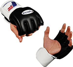 Fighting Sports MMA Competition Gloves, Black, X-Large