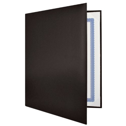 Black Padded Diploma Covers - Set of 25 by Jones School Supply Co., Inc.