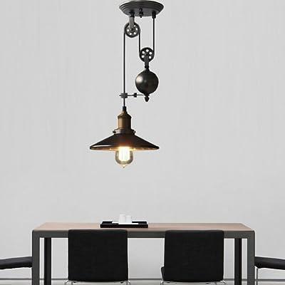 Lightinthebox Industrial Vintage Style 1-Light Pendant Hanging Light For Rustic/Lodge/Vintage/Retro/Country Kitchen/Hallway/Garage Metal