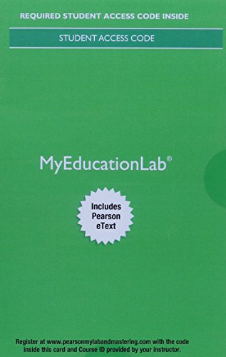 MyLab Education with Pearson eText -- Access Card -- for Child Development and Education (6th Edition)